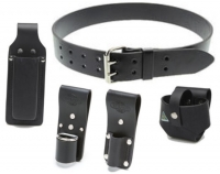 "Buckaroo 2"" Leather Belt with Frogs"