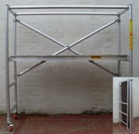 FlatPack Aluminium Folding Scaffold