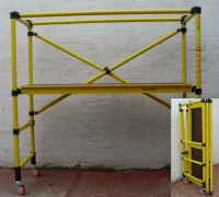 FlatPack Fibreglass Folding Scaffold